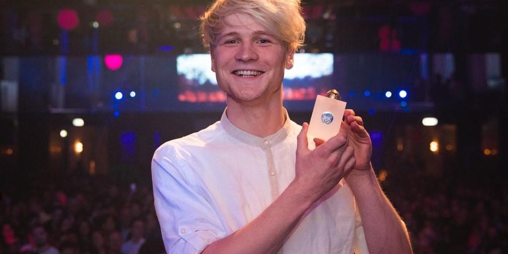 Kelvin Boerma (Kalvijn) wint 'Digital Celebrity' SpinAward