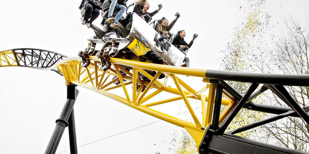 RTL MCN influencers testen nieuwe achtbaan Walibi Holland