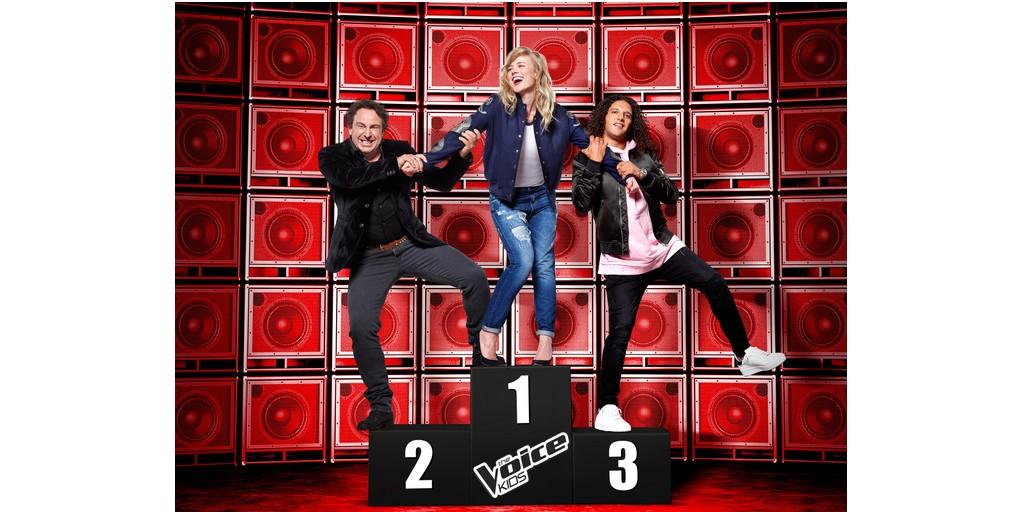 Kleine talenten nemen podium over bij 'The Voice Kids'