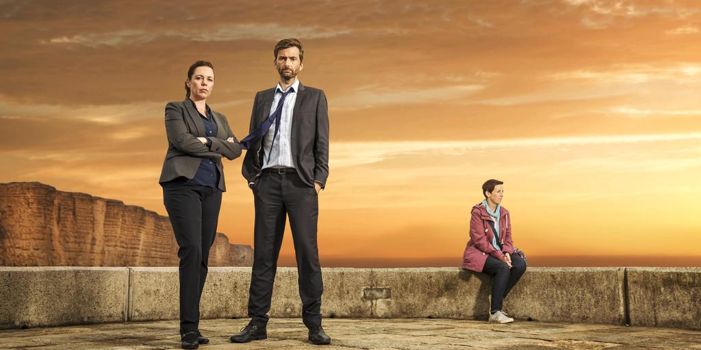 Gloednieuw seizoen 'Broadchurch' bij Videoland en RTL 4