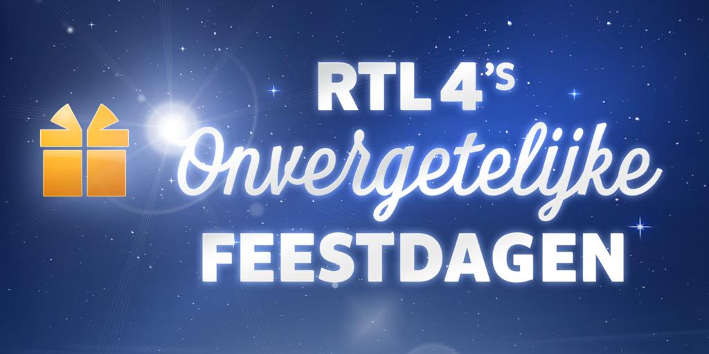 RTL 4 creëert hartverwarmende decembermaand met 'RTL 4's Onvergetelijke Feestdagen'