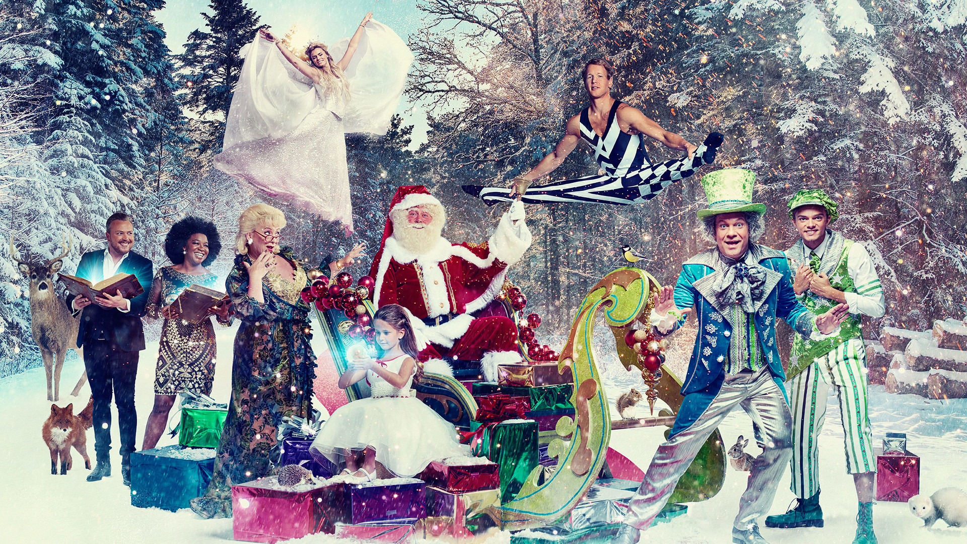 Leona Philippo, De Kerstman, Nicolette van Dam, Eefje, Epke Zonderland, Buddy Vedder, Carlo Boszhard en Jamai Loman