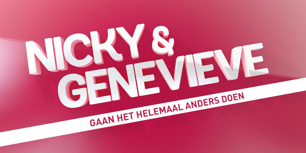 'Nicky & Genevieve Gaan Het Helemaal Anders Doen' bij RTL XL
