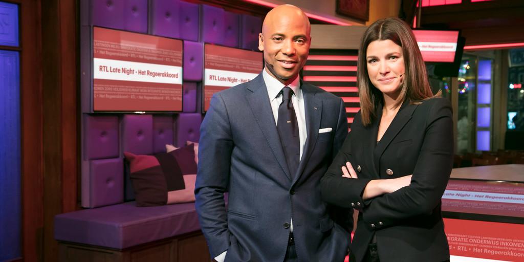 'RTL Late Night' komt dinsdag met special over regeerakkoord
