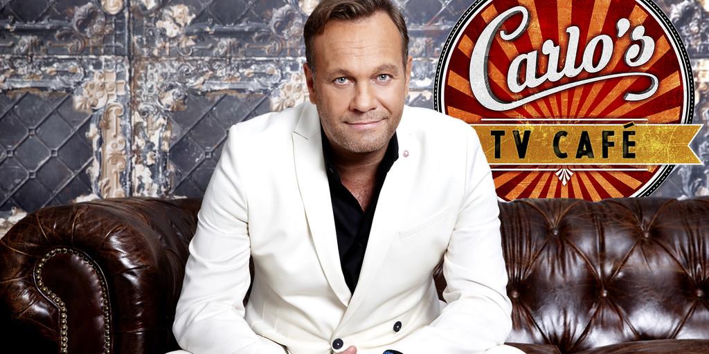 Wil Boszhard zondag co-host in laatste 'Carlo's TV Café' van dit seizoen