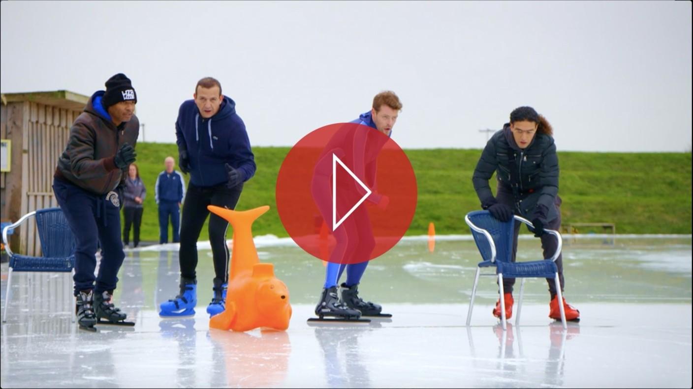 Gabbers op schaatsen